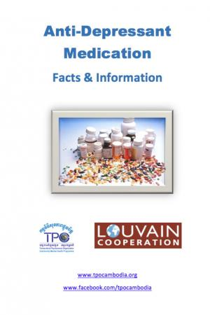 Leaflets: 2. Anti-Depressant Medication: Facts & Information
