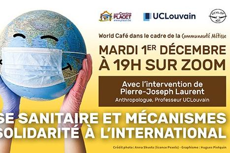 World Café - Crise sanitaire et mécanismes de solidarité à l'international